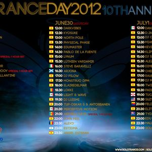 Dj Pilow - Special Set For Solotrance Day 2012