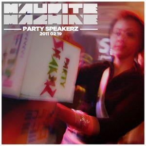 Maudite Machine mixtape #004