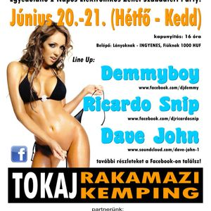 Ricardo Snip @ Tokaj - Holiday Camp / Rakamazi Kemping / 2011.06.20.