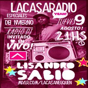 Lisandro Sabio live set La Casa Radio 09-09-2012 parte 2