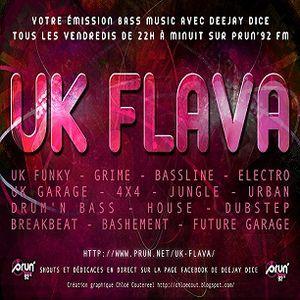 Helper (aka K.gol) UK Flava Show Prun'fm 22/06/2012 Footwork set