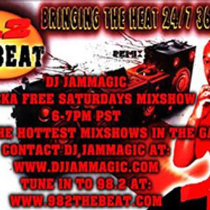 Jammagic Live Mixshow Sucka Free Saturdays on 98.2 The beat March 15 2014