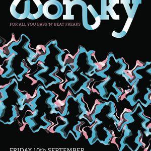 Wonky, Edinburgh (September '10): Warm-up
