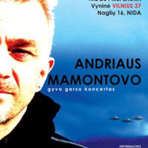 Neringa FM pašnekesiai su Andriumi Mamontovu Nidoje...