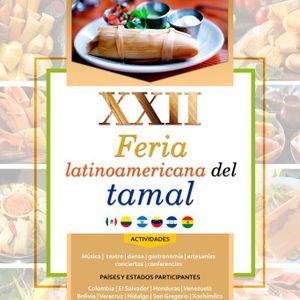 XXII Feria latinoamericana del Tamal