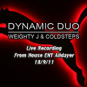 Dynamic Duo Live Recording From House ENT Alldayer 18/9/11