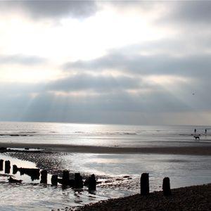 A Walk Along The Beach.