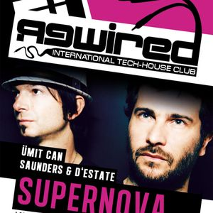 Supernova @ Rewired - International Tech House Club (24.02.2012)