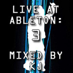KJ - Live @ Ableton 3