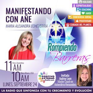 MANIFESTANDO CON AÑE-09-24-2018-Rompiendo Barreras