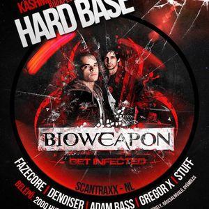 DJ Constantine - Warm Up To Hard Base 'Bioweapon' Mix 2011