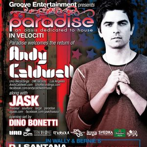 Andy Caldwell (July 1st Promo for Paradise @The Hyde Park Cafe)