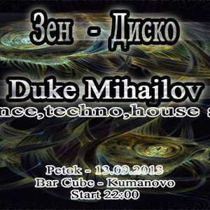 13.09.2013 Zen Disco/ Dj Set @Bar Cube