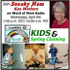 Spring Cleaning with The Sneaky Mom Kas Winters on WoMRadio