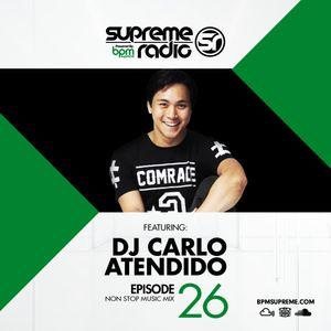 Supreme Radio: Episode 26 - DJ Carlo Atendido