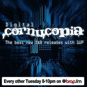Digital Cornucopia|15 JUN 10|Jazzy D&B|1UP|brap.fm