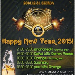 Szanszy Live @ Scarabeus, Budapest 14-12-31
