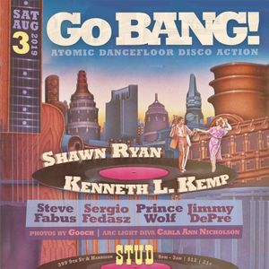 Kenneth L. Kemp at Go BANG! August 2019