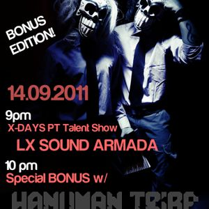 X-DAYS Radioshow! BONUS - Hanuman Tribe