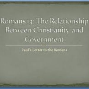 NTR - The NWO and Romans 13, Hypnotism, and Critical Scholarship
