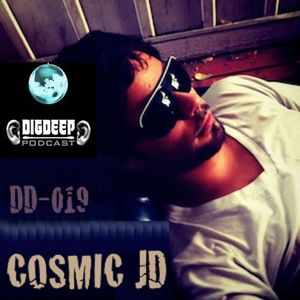 DD019 | The DigDeep Podcast mixed by Cosmic JD