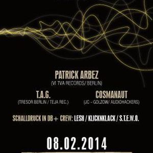 Patrick Arbez Liveact @ Schallruck in db 08.0214