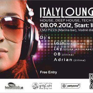 JOJO vs. JAY - ITALY LOUNGE 2 (live) 08.09.2012