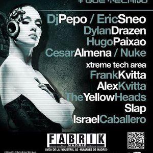Dylan Drazen - Live @ Code 083, Fabrik Club, Madrid, Espanha (28.07.2012)