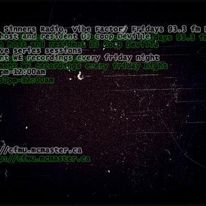 Jan. 05.09-DJ Coop DeVille Live. VSR 93.3 fm