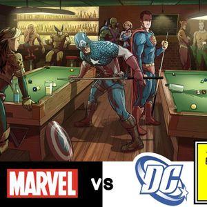 MARVEL VS DC - RED EYE REPORT 123