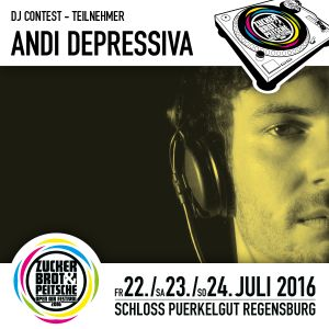 Z&P 2016 DJ Contest Mix by ANDI DEPRESSIVA