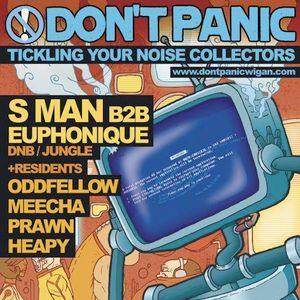 Euphonique & S Man LIVE @ Don't Panic 08/10/11