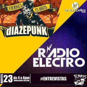 Ktarsis con Diazepunk y Radio Electro 23-08-16
