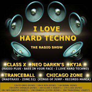 CHICAGO ZONE @ RIND RADIO - Retro Set - I LOVE HARD TECHNO (19-03-2016)
