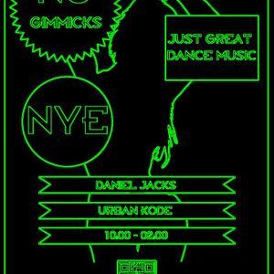 NYE 2012 @KLUDO DJ DANIEL JACKS