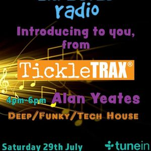DJ Alan Yeates 'TickleTRAX Special' Infected Radio Show 001