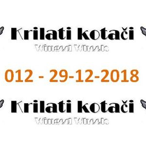 012 - Krilati kotaci (29-12-2018) radio show