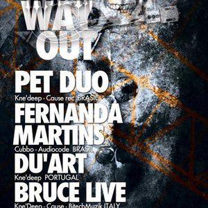 Fernanda Martins - Live @ No Way Out, Redrum Club, Bolonha, Itália (28.04.2012)