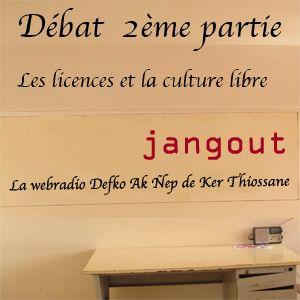 """2ème partie débat """"Les licences et la culture libre"""""""