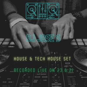 DJ JOSE S - House, Tech & Rave House set recorded live on ShedFM 23.6.21