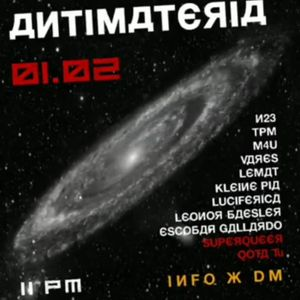M4u // Antimateria Vol.3 // Uknown Place ****// 01-02-2020 // 6:00am