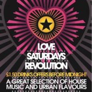 Love Saturdays @ Revolution Walsall!