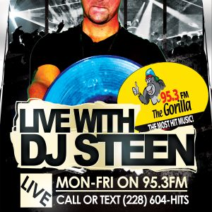 DJ STEEN LIVE ON GORILLA