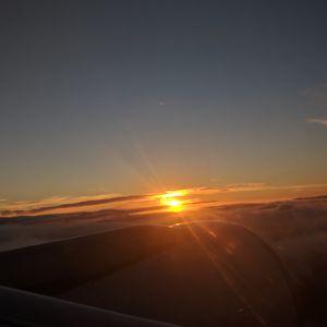 Cruising at 35000 feet