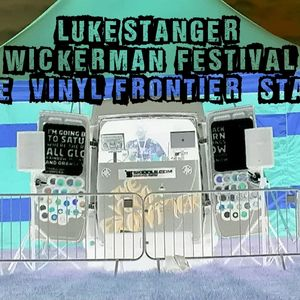 Luke Stangers set from the wickerman festivals out door stage at bass camp