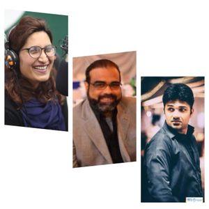 RJ Aanie,Zeeshan Adil & Kashif Majeed / Memories of FM98 in 2017 / 31.12.17