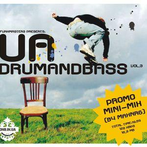 2006.11 VA - UA DRUMANDBASS vol.3 - promo mini-mix by MaxNRG
