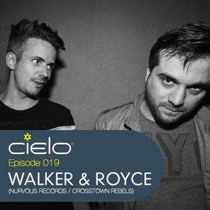 Episode 019 - Walker & Royce (Nurvous/Crosstown Rebels)