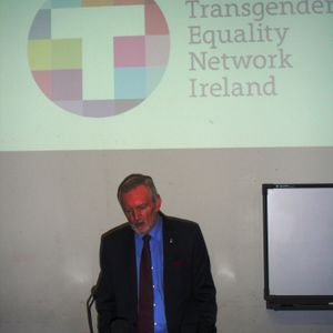 Michael Farrell (FLAC) urges Joan Burton to recognise the humanity of Ireland's Trans community.