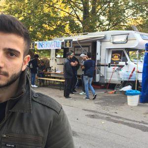 Zain Aiman is a refugee in Graz